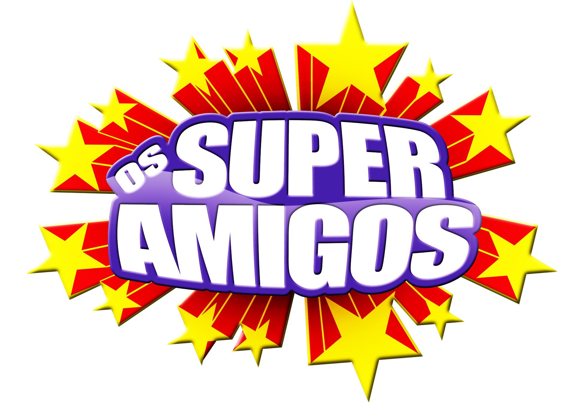 Animações infantis com fantoches Os Super Amigos