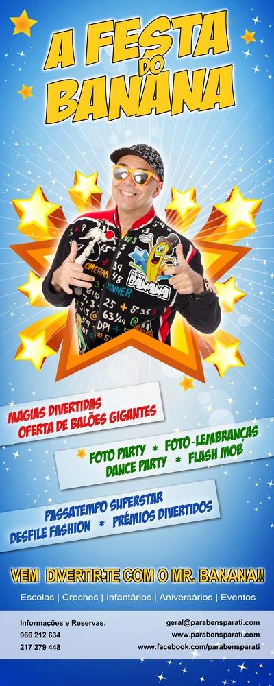 Festa do Banana - A festa preferida dos aniversariantes em Portugal